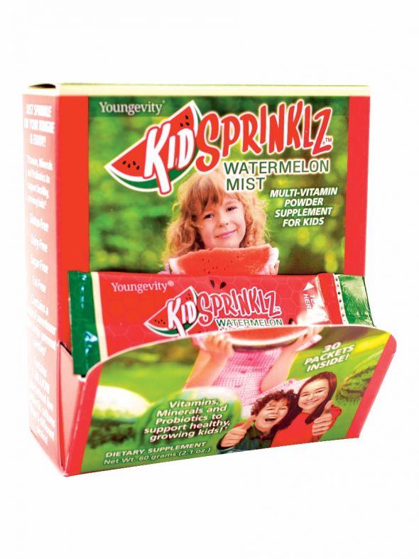 Kidsprinklz Watermelon Mist - Multi-Vitamin Powder